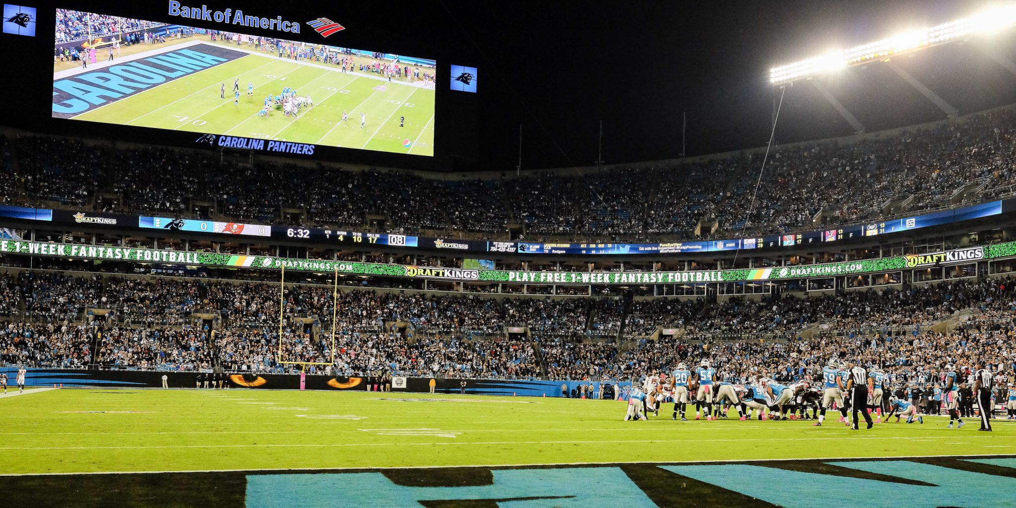 Carolina Panthers Plan Bunker Suites