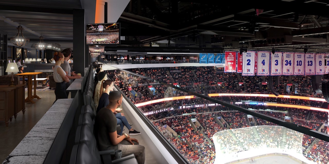 New Premium At Top Of Wells Fargo Center Venuesnow
