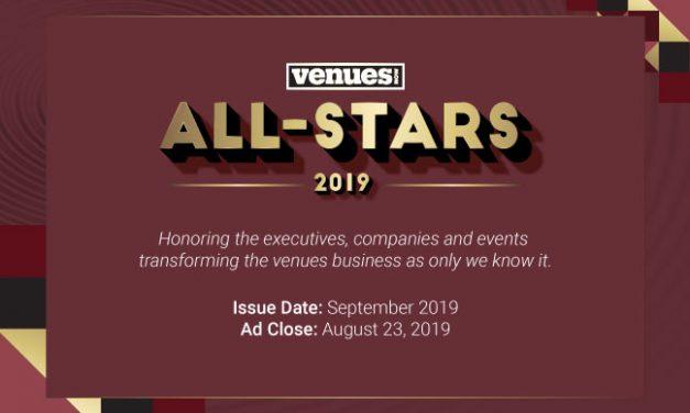 2019 Inaugural VenuesNow All Stars