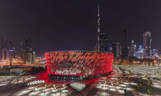 Three Months In, Coca-Cola Arena Pops