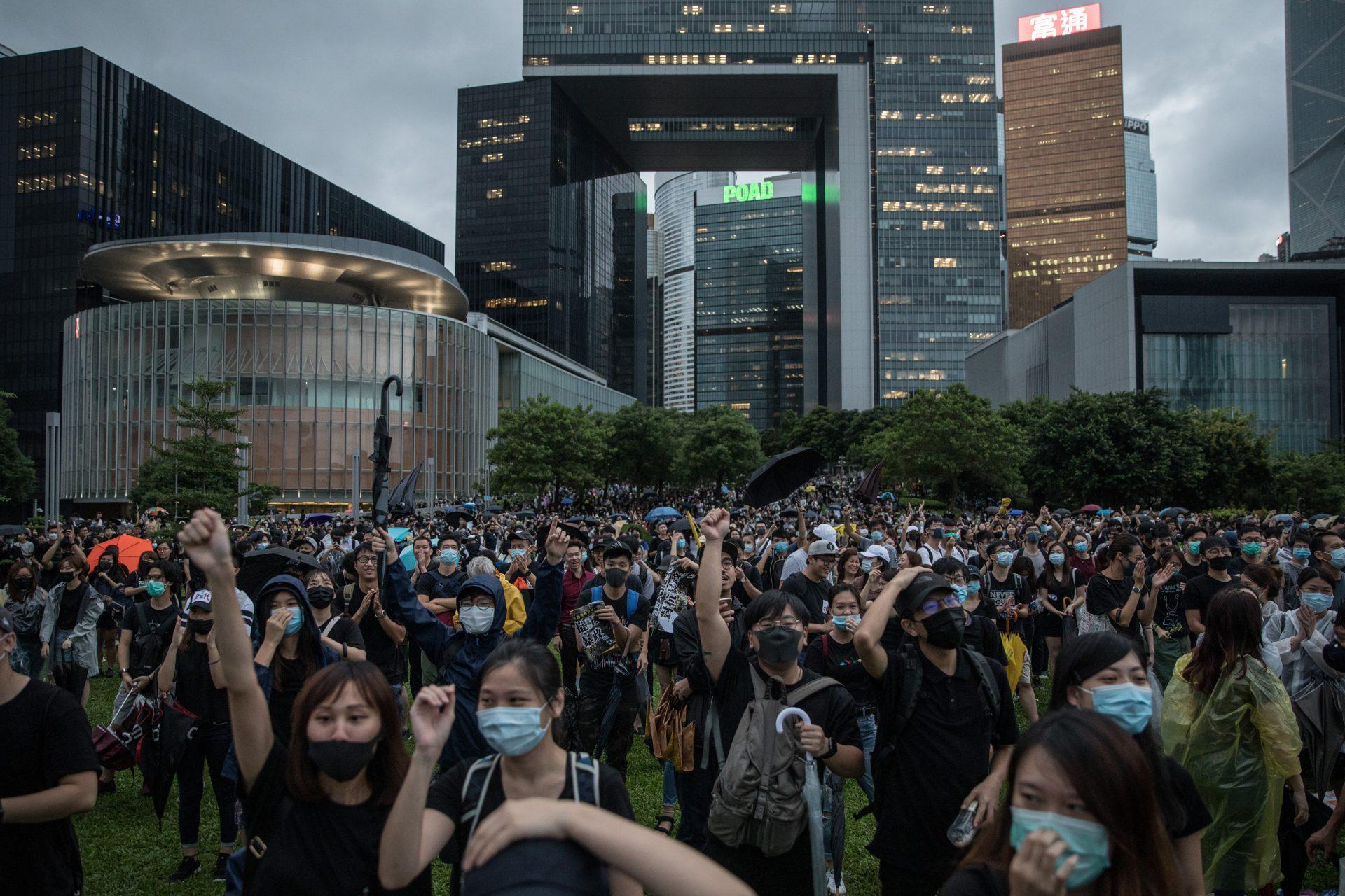Despite protests, HKCEC remains open