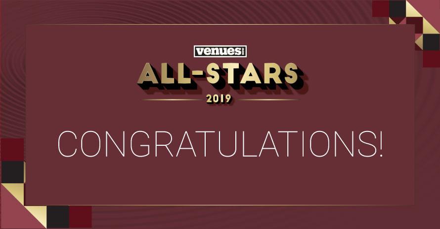 2019 VenuesNow All-Stars: Kim Damron