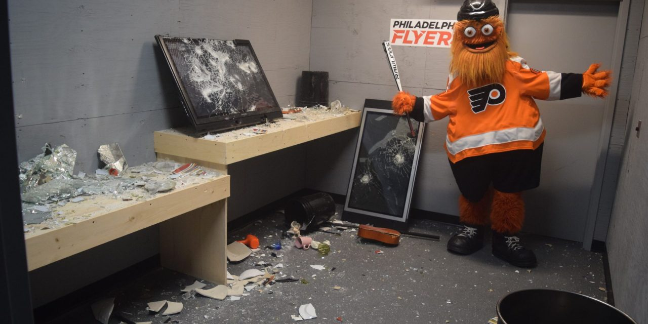 Wells Fargo Center's Rage Room a Smash