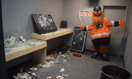 Wells Fargo Center's Rage Room a Smash