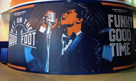 James Brown Arena: Still Funky
