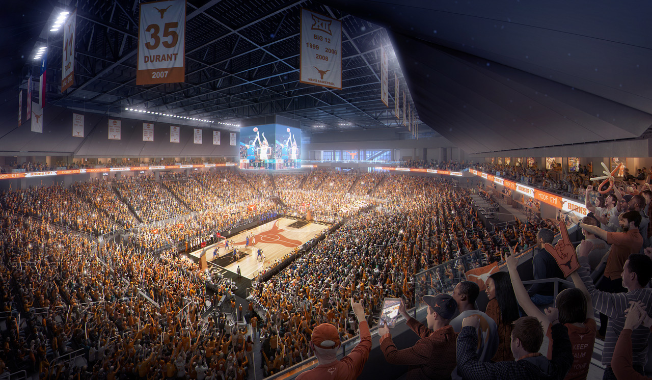 Groundbreaking held for UT's Moody Center
