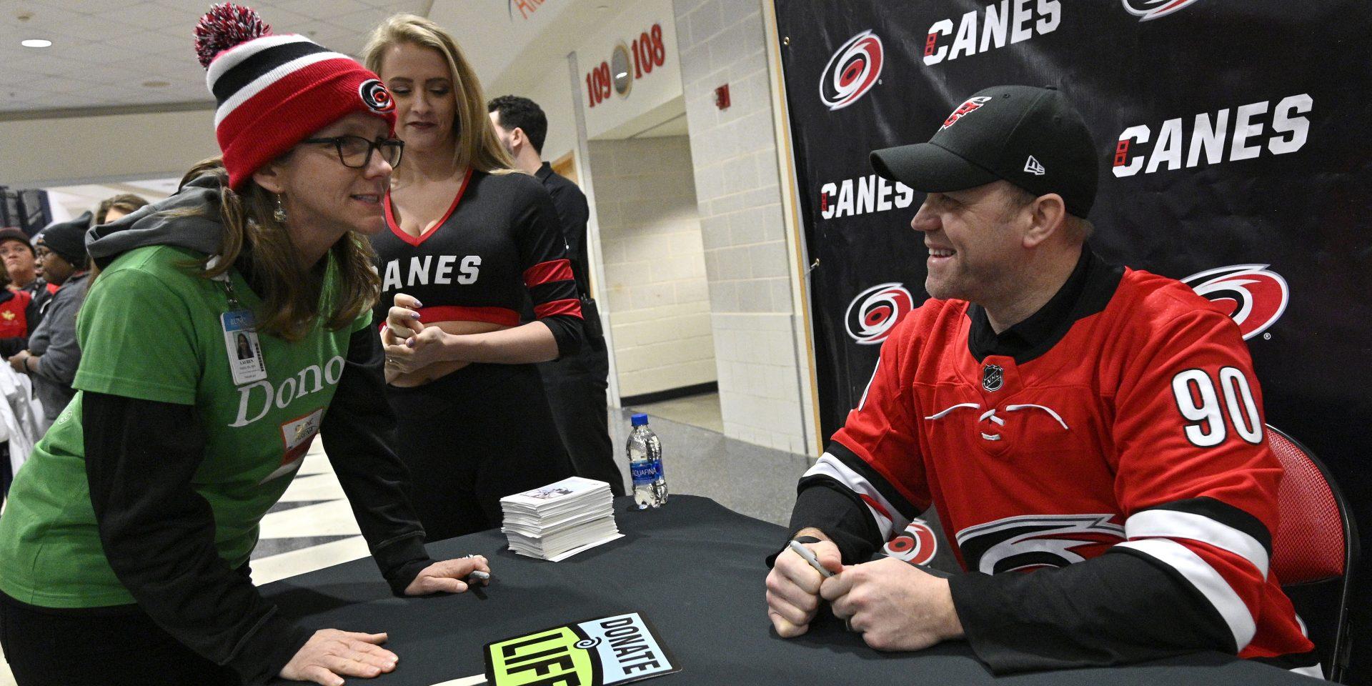 Overnight NHL Star Still Has Time for Shop Talk