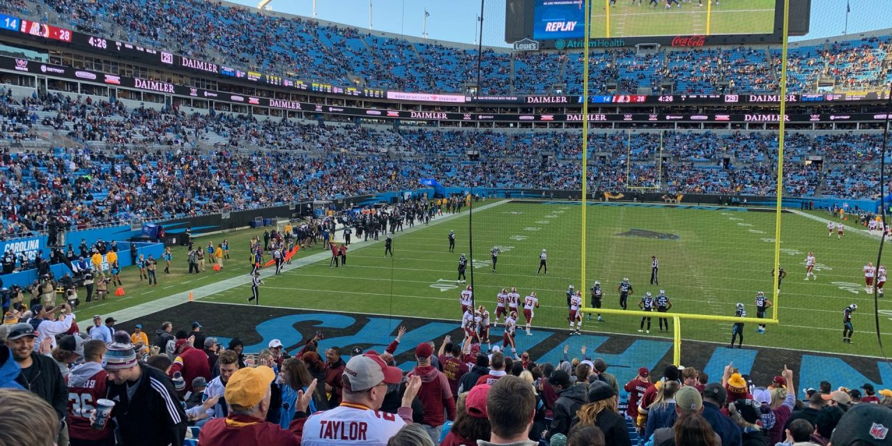 Levy takes over Carolina Panthers' food service