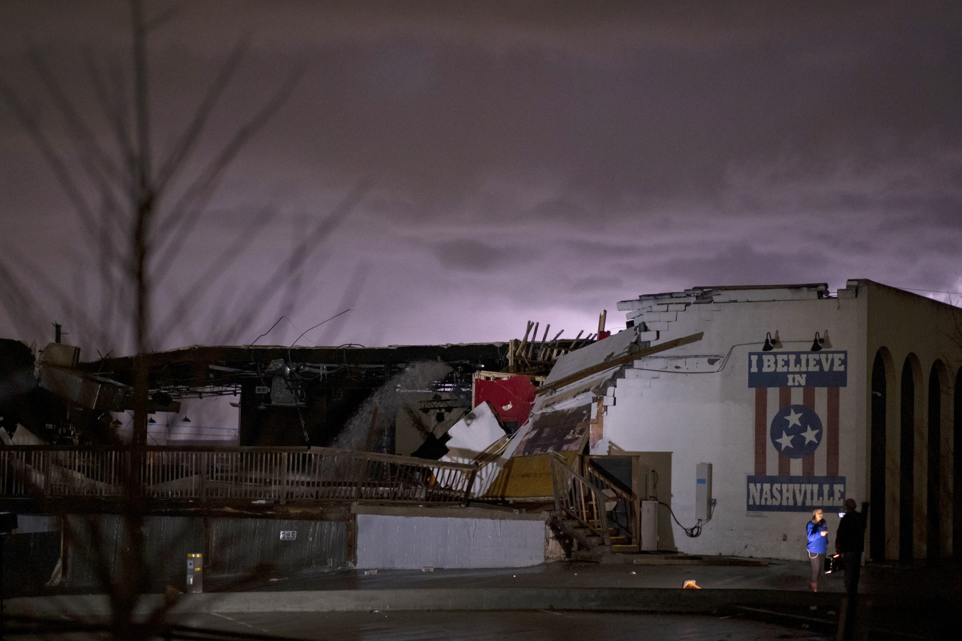 Nashville's Basement East Damaged In Tornado