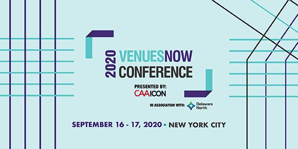 VenuesNow Conference Still Set for Sept. 16-17 in NYC