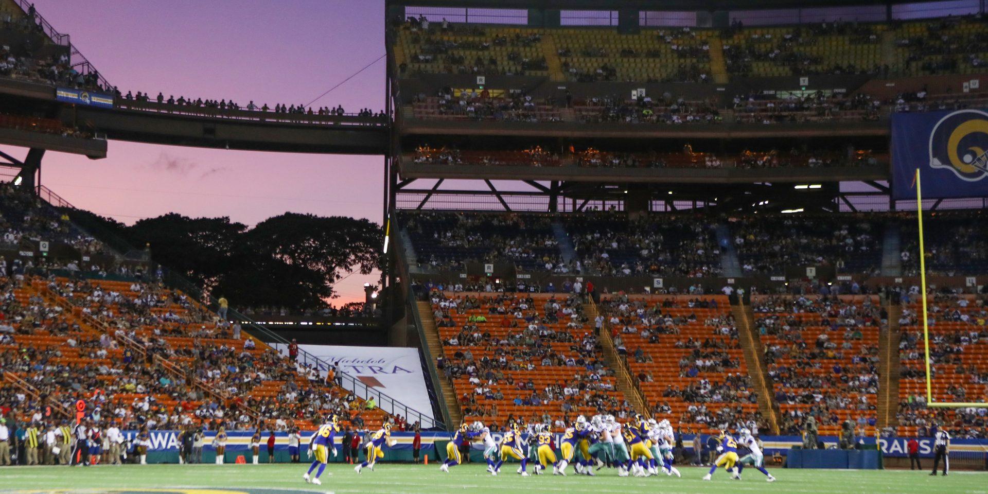 Plan to Replace Aloha Stadium Advances