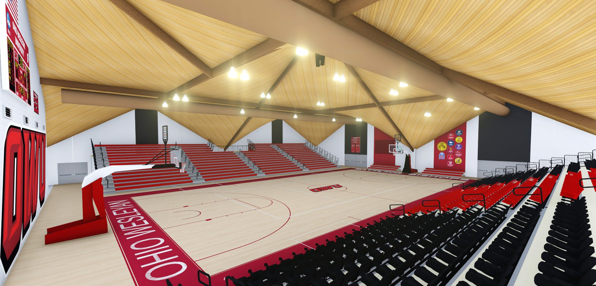 Ohio School Starts From the Top on Arena