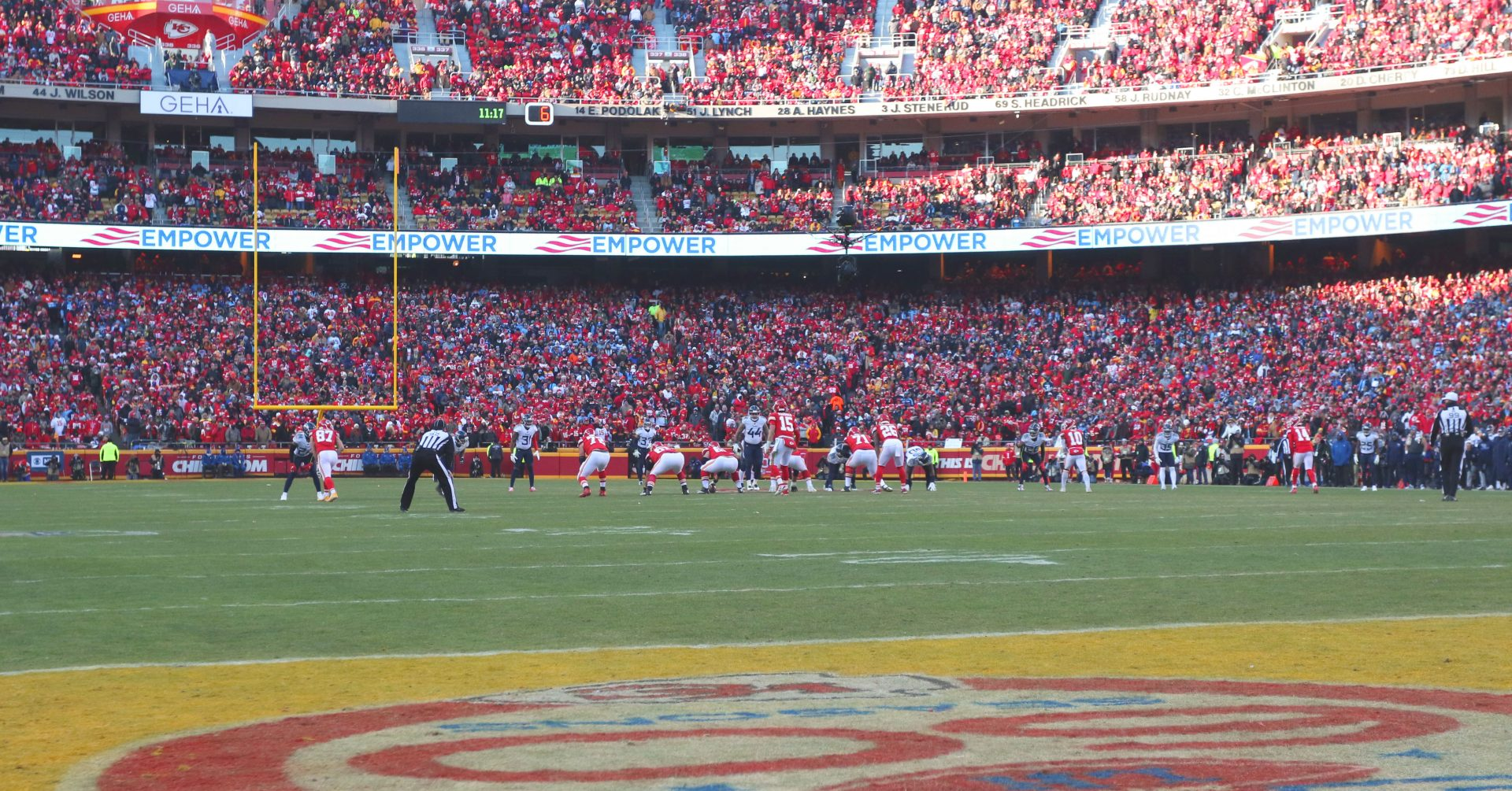 Aramark, Levy Keep Roles at Arrowhead Stadium