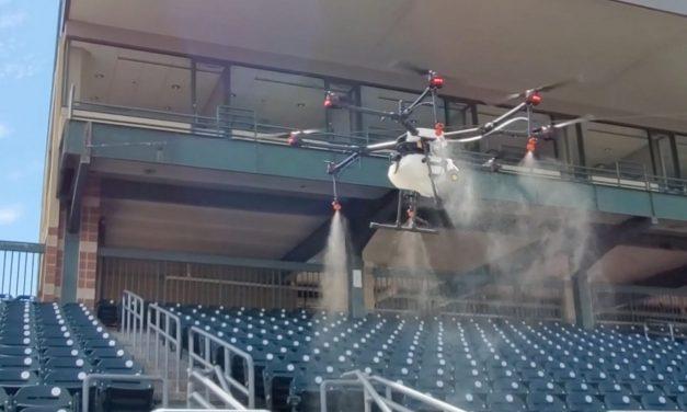 Drones Offer Aerial Assault on Virus
