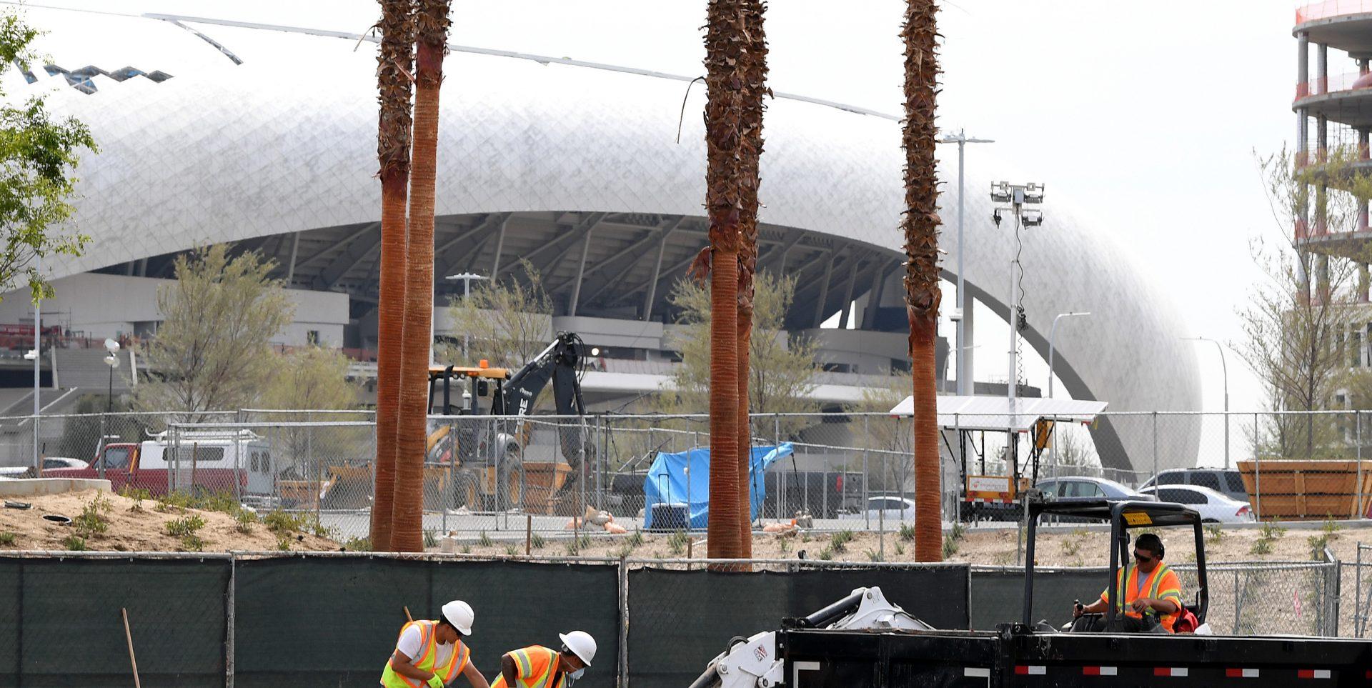 Sources: Square Lands SoFi Stadium Account