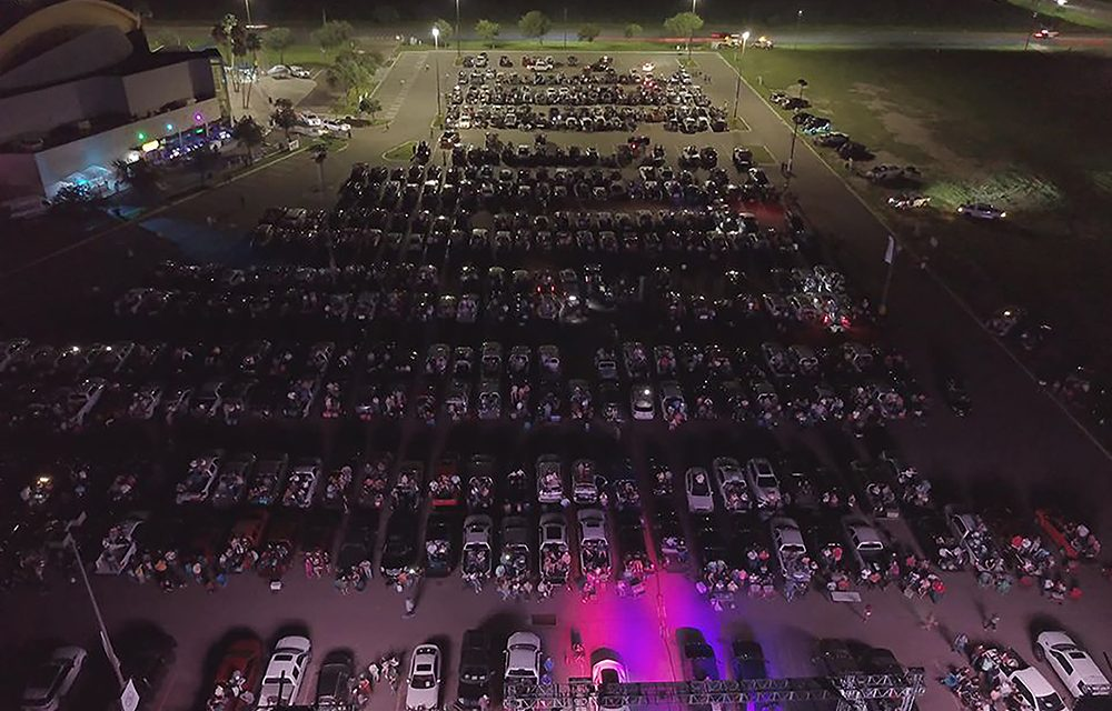Drive-Ins: Texas arena with lone full-timer joins trend