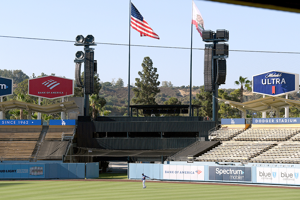 A Sound Investment at Dodger Stadium