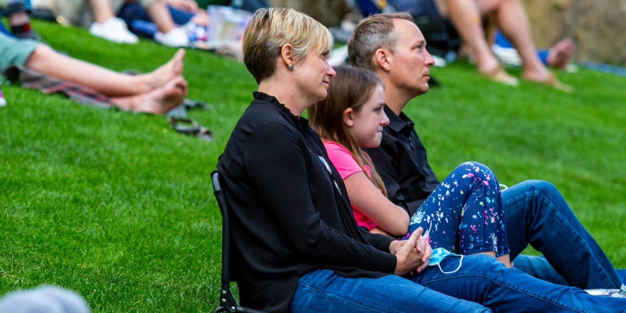 Vail Amphitheater: Cautious and Careful