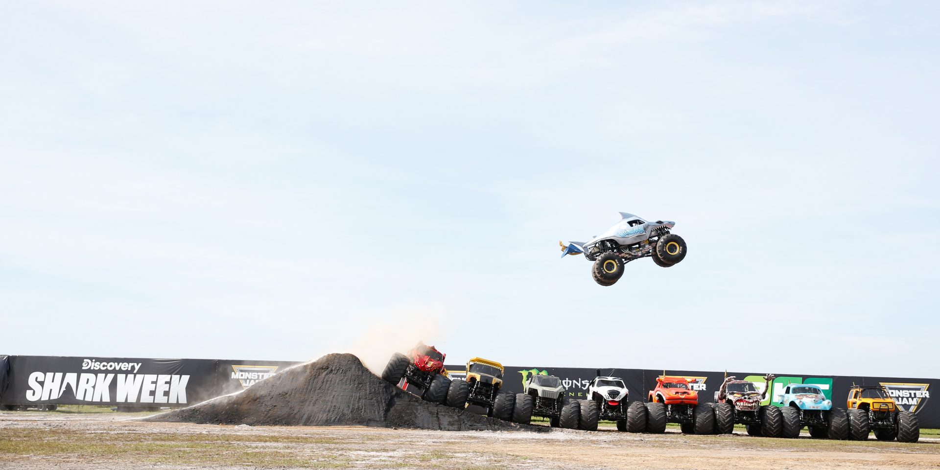 Monster Jam Jumps the Shark (In a Good Way)