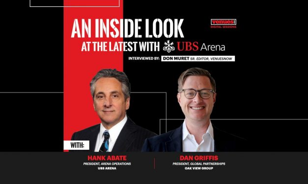 Video Interview: Hank Abate of UBS Arena and Dan Griffis of Oak View Group