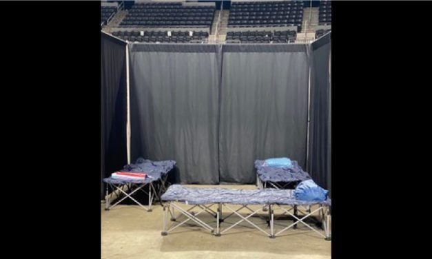 Cajundome Needs Pipe and Drape for Shelter Duty