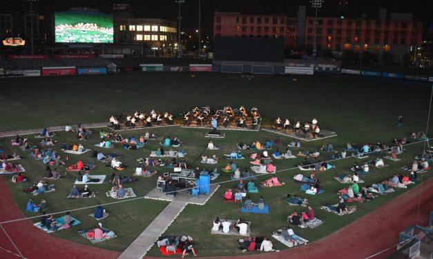 Ballpark Opera On Deck at Oneok Field