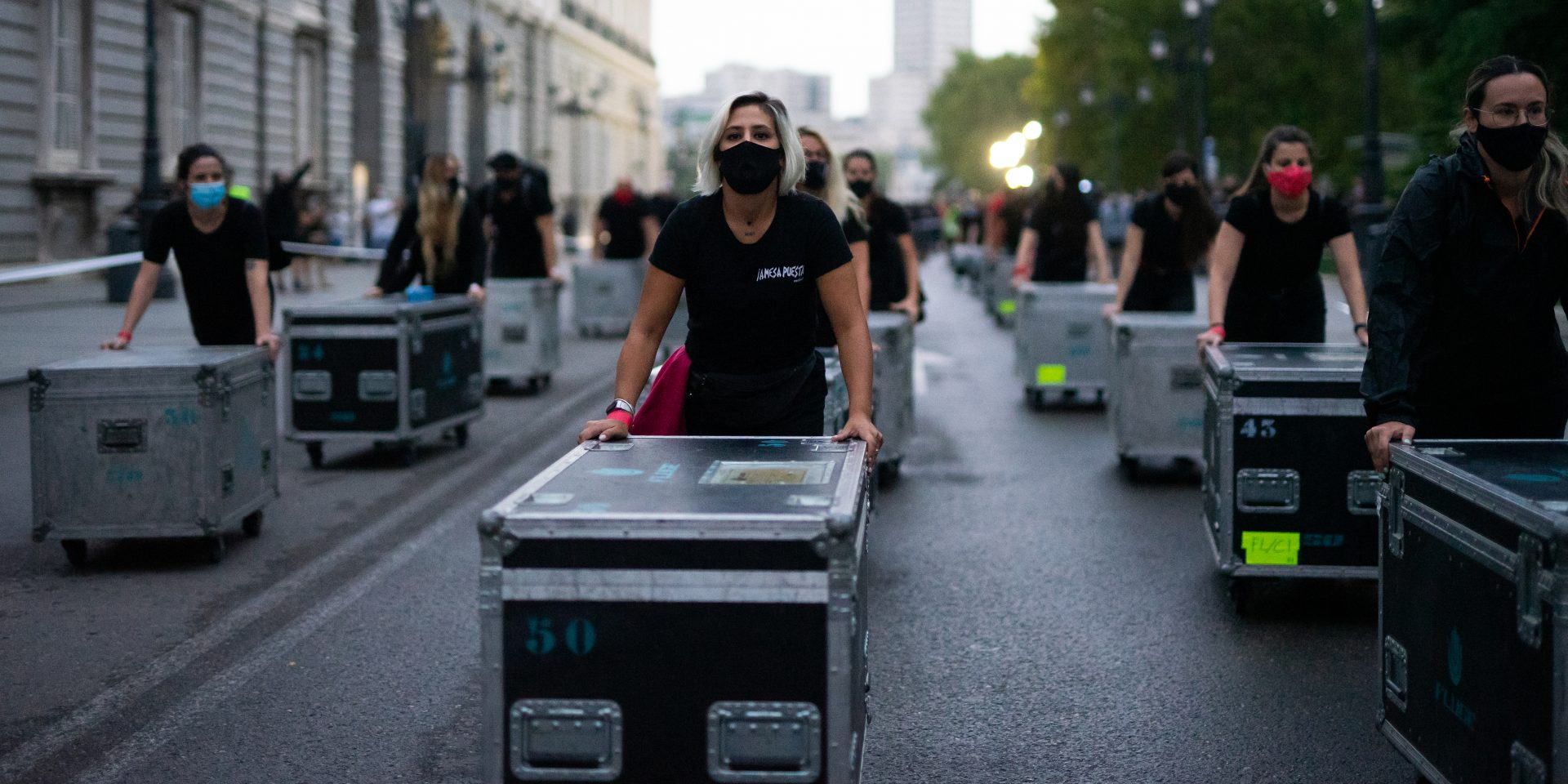 Spain's Live Industry Goes on Red Alert