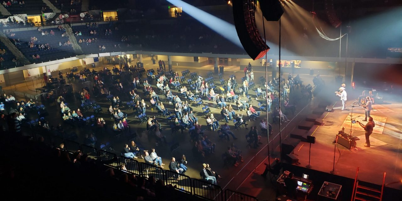 U.S. Cellular Center Concert Thought to Be a First