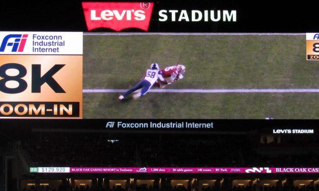 49ers Put 8K Video Tech Into Play