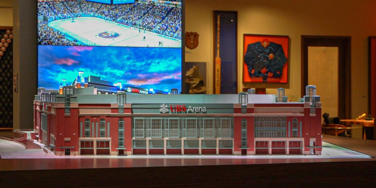 Tech Takes a Back Seat at UBS Arena Preview Center