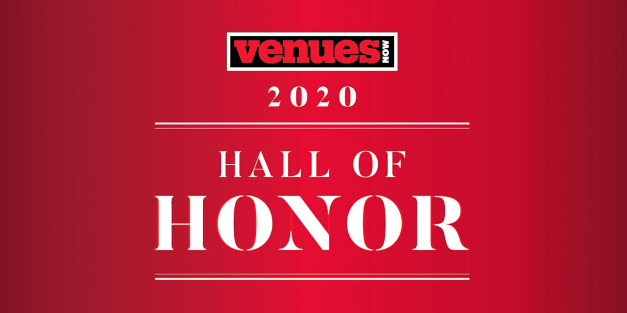 VenuesNow Hall of Honor 2020