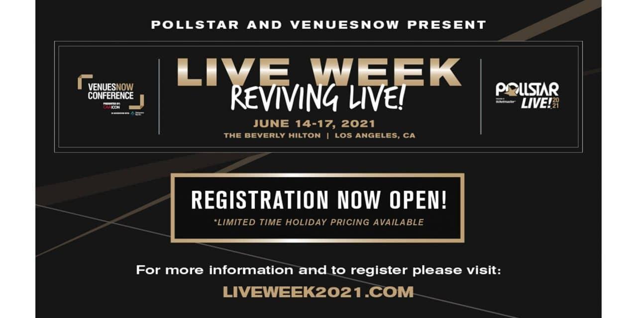 Live Week: Reviving Live! Set for June 14-17