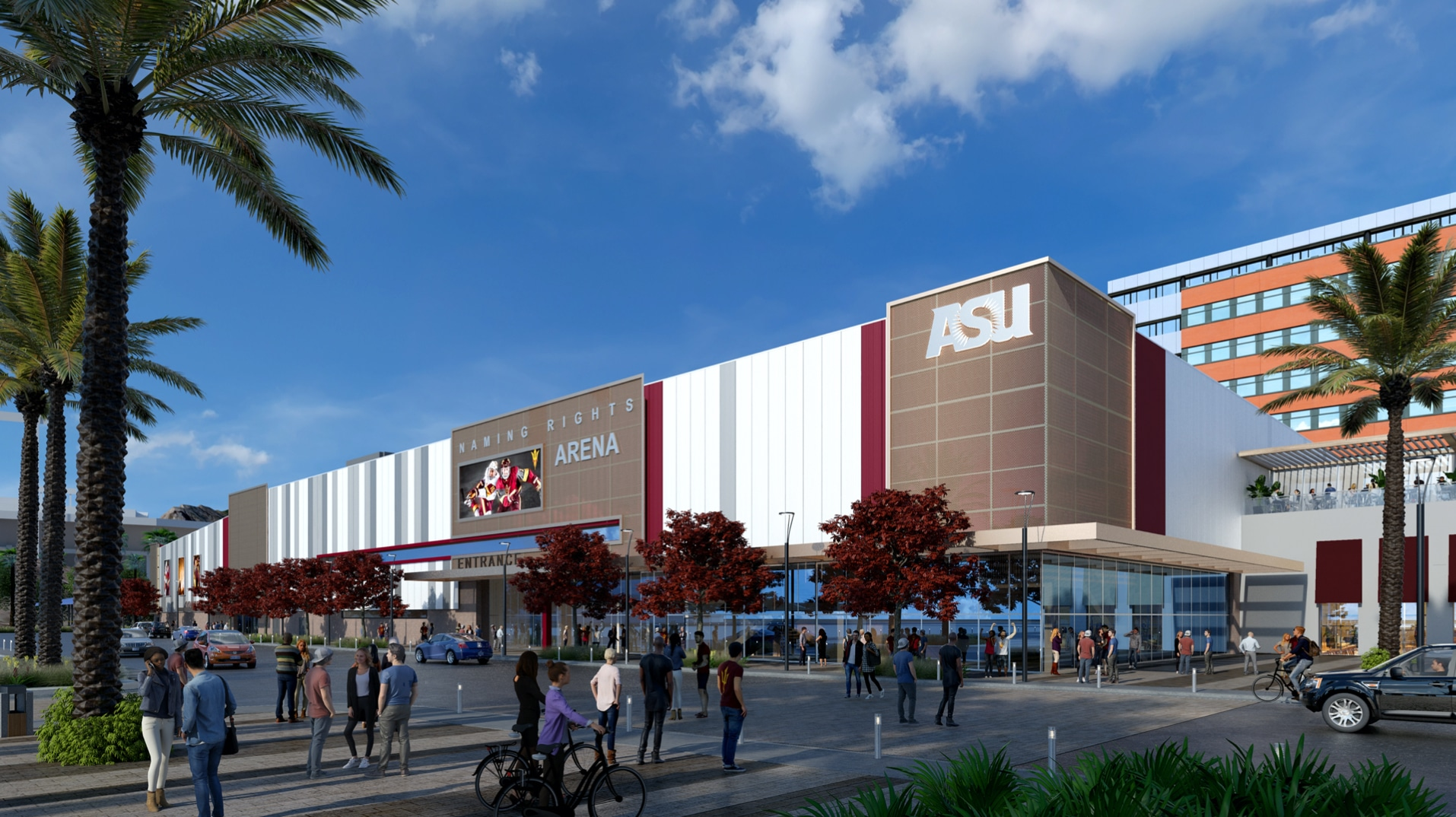 Arizona State signs OVG to run hockey arena