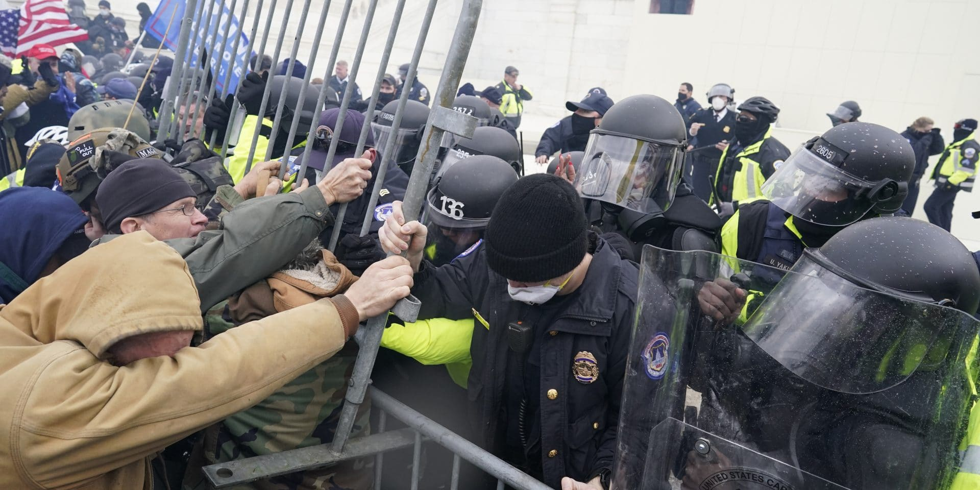 Security Lessons From Capitol's Storming