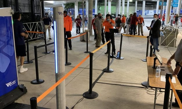 Contactless Screening Steps Up at Sports Venues