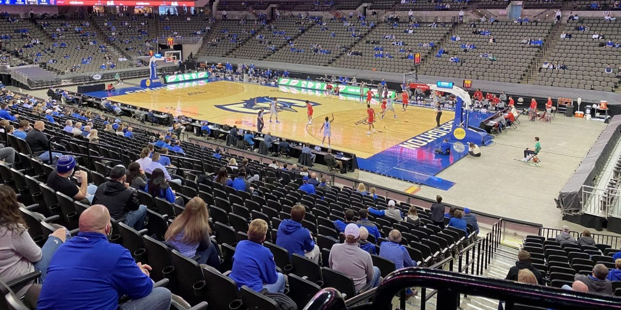 College Hoops Fans Get Seats at Some Arenas