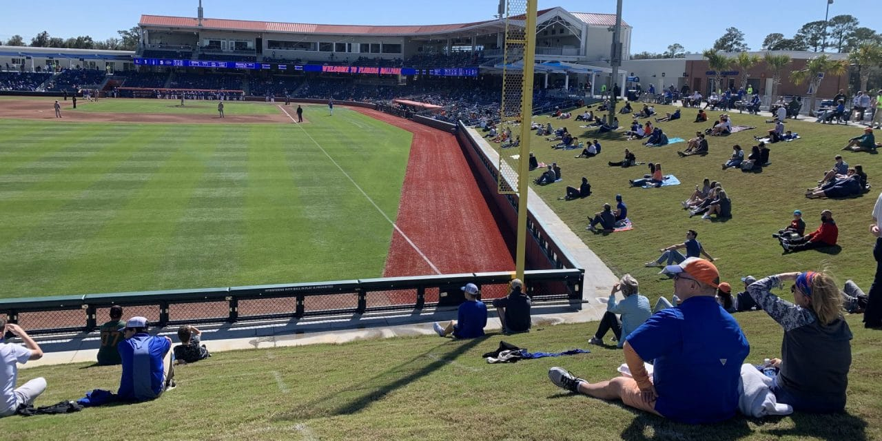 Gators Baseball Fans Get New Place to Gather