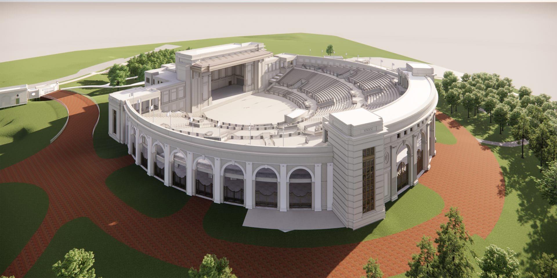 Big Name Behind Huntsville Amphitheater