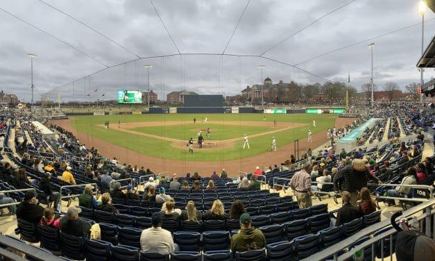 A Long Hello Makes Ballpark Feel at Home