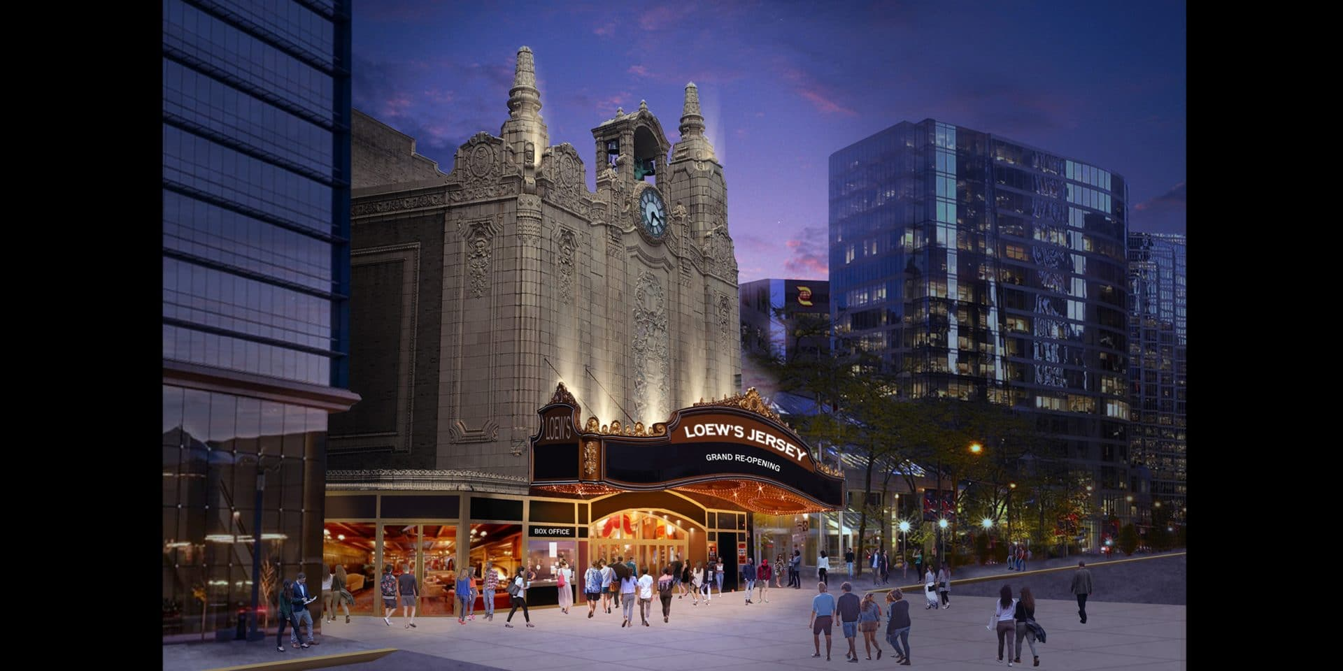 NHL Team's Affiliate Takes on Theater Project
