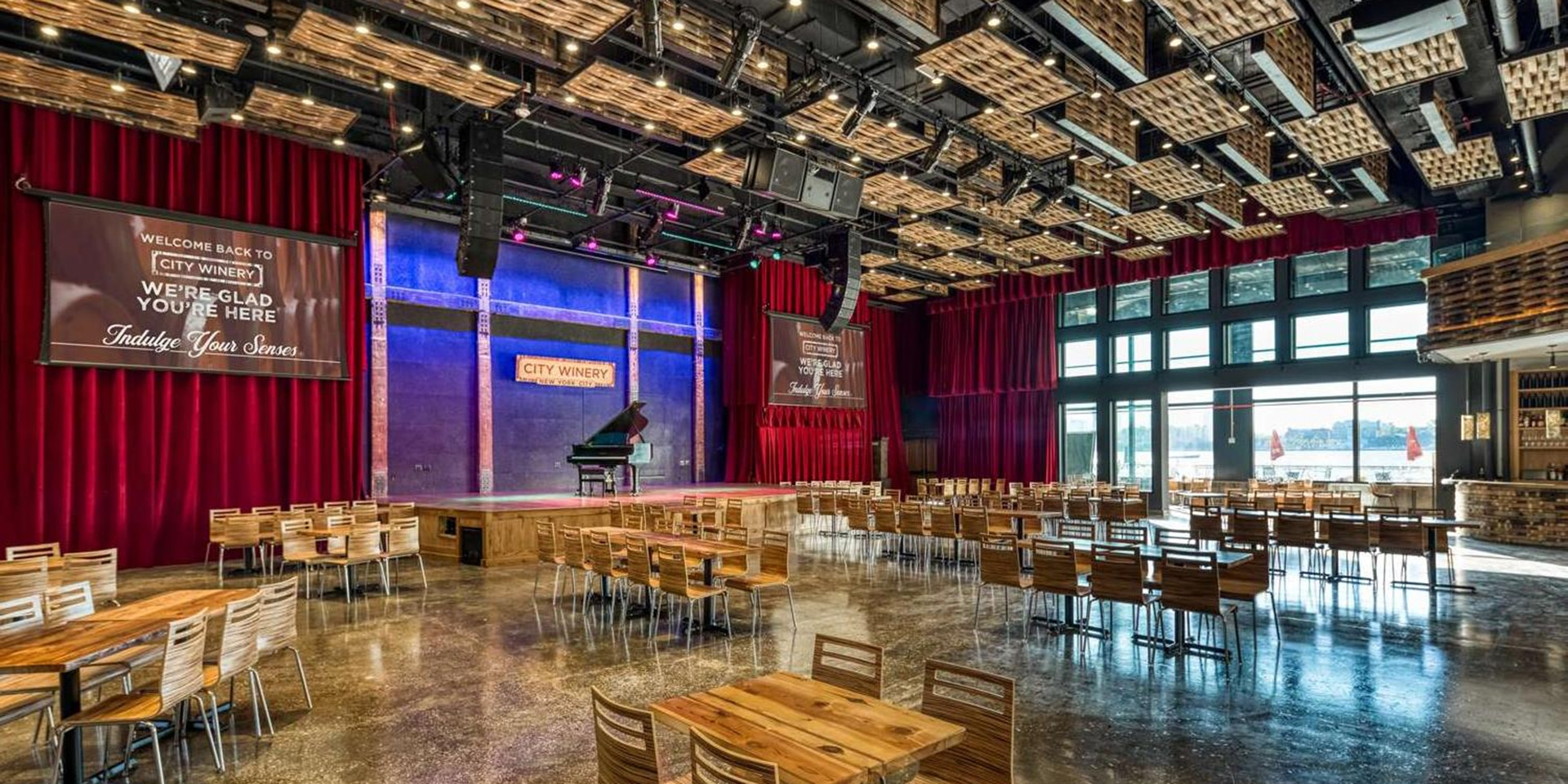 City Winery NYC Is Ready for Its Close-Up After 18 Long Months