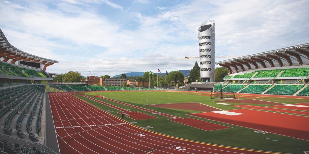 Oregon's Track Palace Is Off and Running