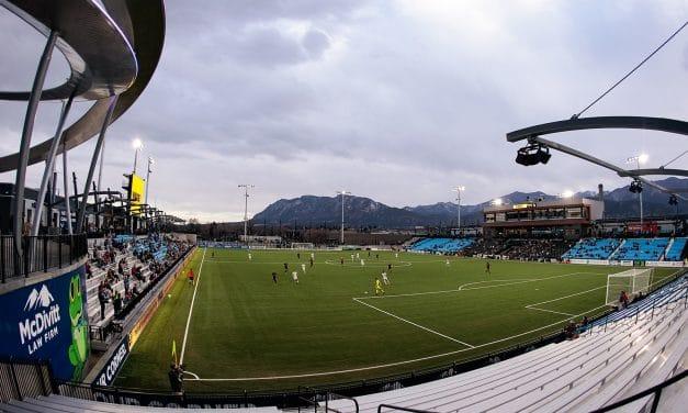Colorado Springs Soccer Stadium Debuts