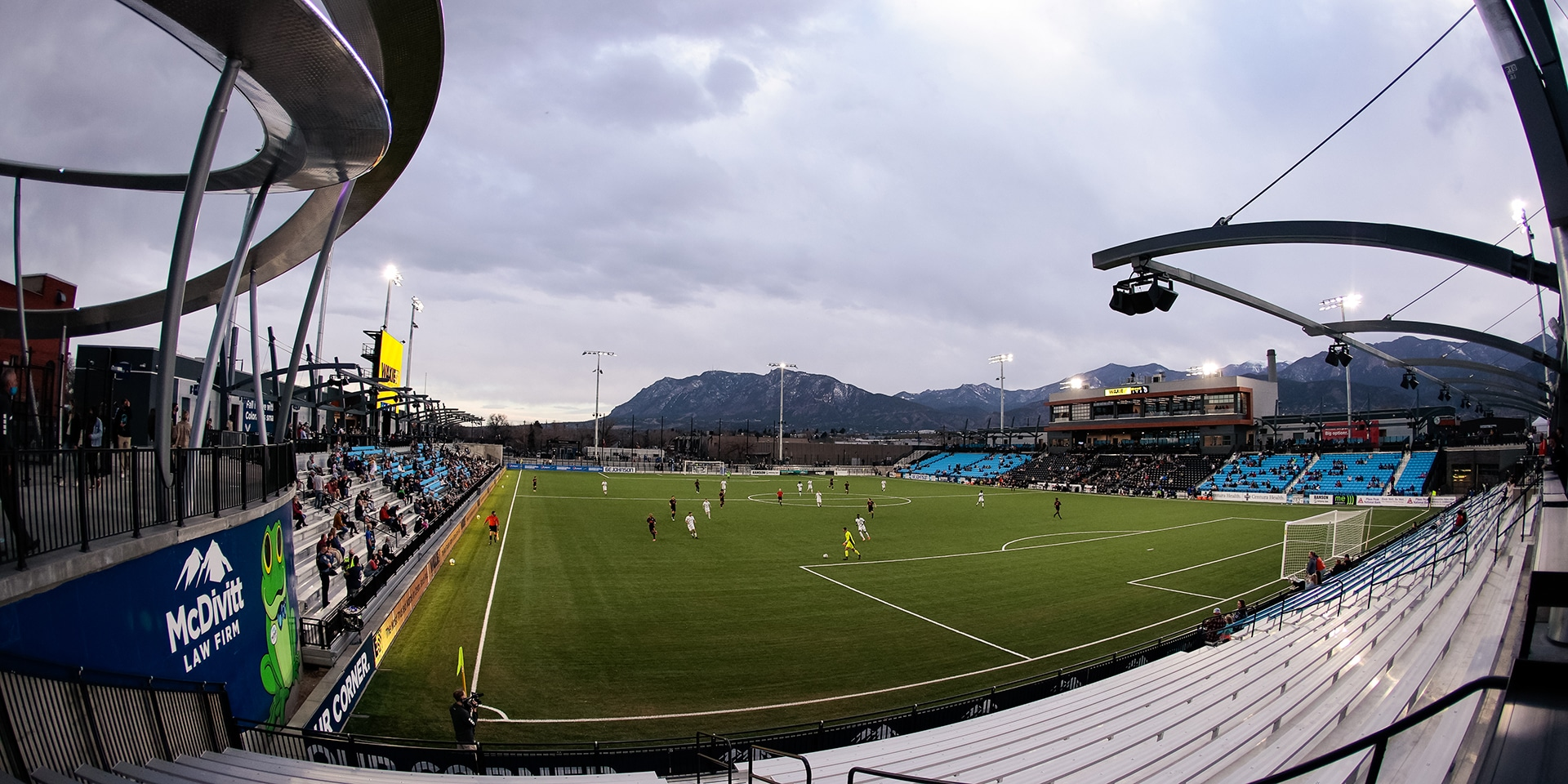 Colorado Springs Soccer Stadium Debuts