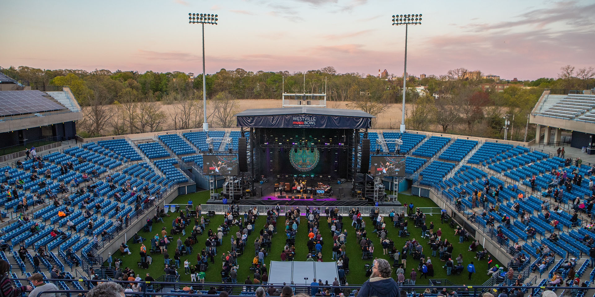 Former Tennis Stadium Serves Up Concerts