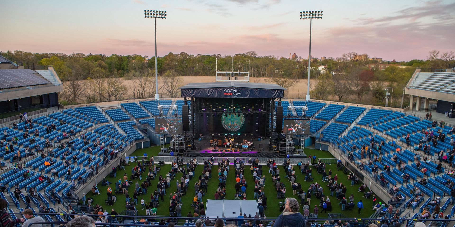 Former Tennis Stadium Serves Up Concerts