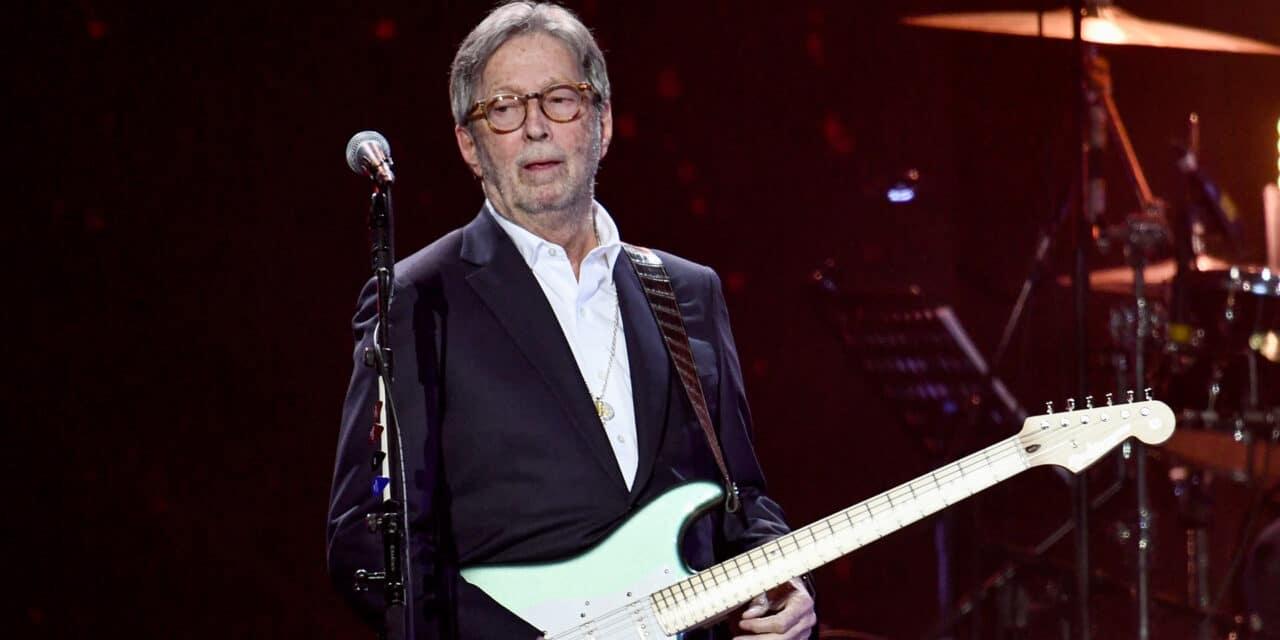 Clapton Jabs at Johnson's Vax Policy