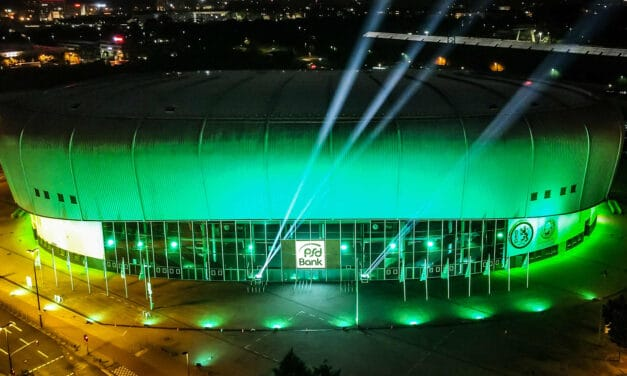 New Name, New Look for German Arena
