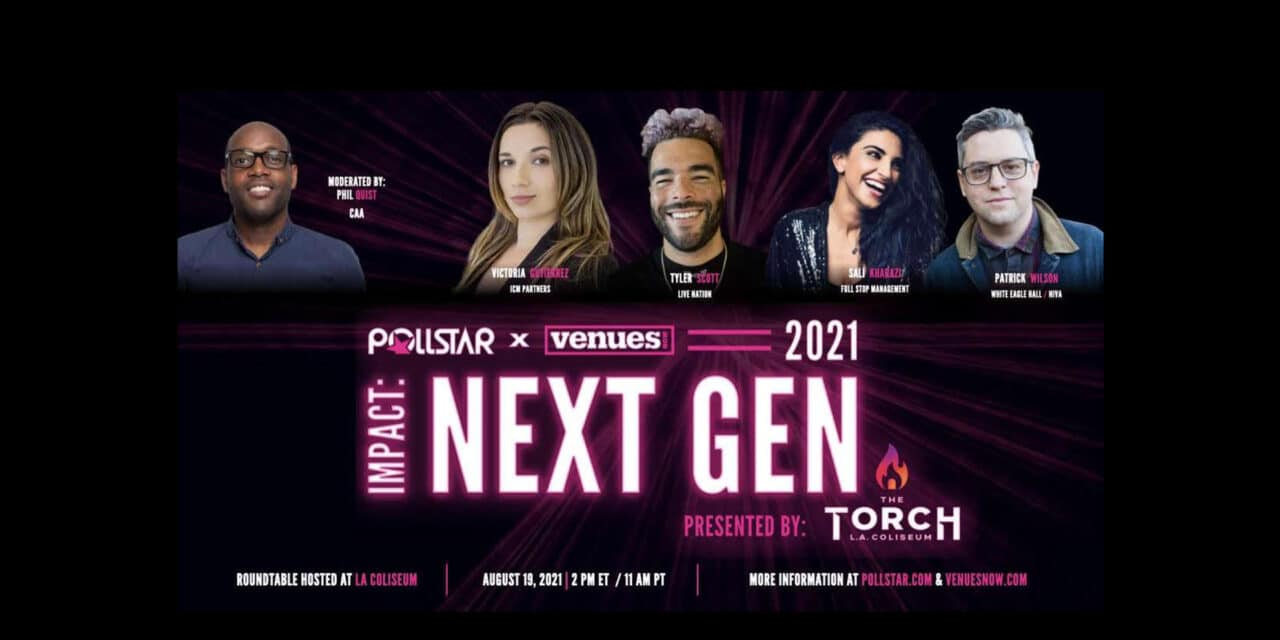 Impact: Next Gen Honorees to Star in Pollstar Live! Digital Session Aug. 19