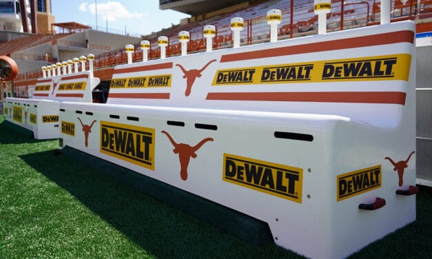 New Advertising Opportunity Rides the Bench in College